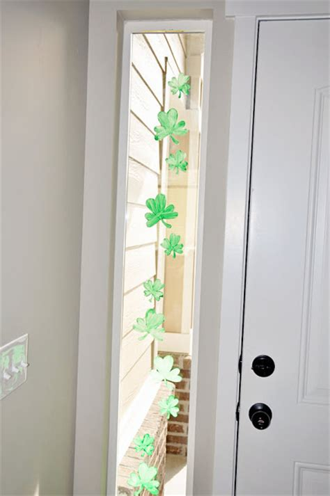 window stencils jones shamrock window stencil