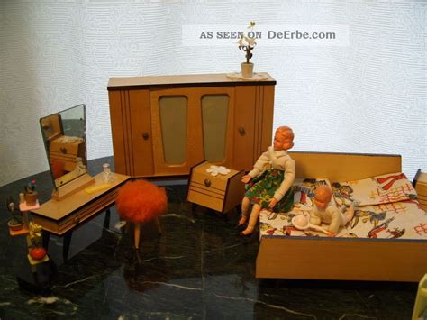 60 er jahre schlafzimmer kultiges schlafzimmer puppenm 246 bel 60er jahre zubeh 246 r