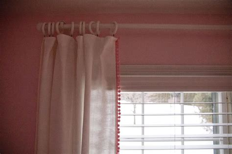 Pom Pom Trim For Curtains Diy Pom Pom Trim Curtains