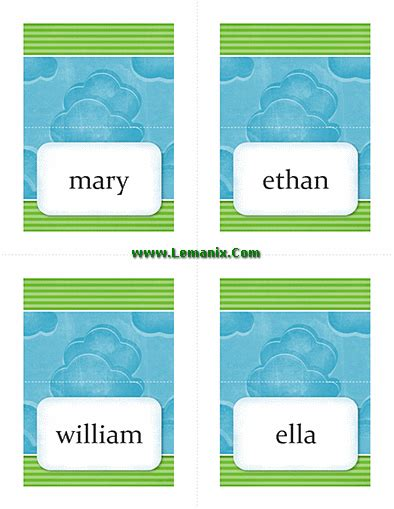 publisher place card template template related office templates for ms office software