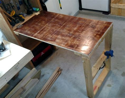 diy fold garage workbench fold workbench diy edoctorradio designs best fold