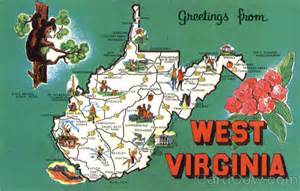 Virginia Tourism Map by West Virginia Tourist Map Scenic Wv