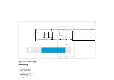 House Plans With Floor Plans Gallery Of Osler House Studio Mk27 Marcio Kogan