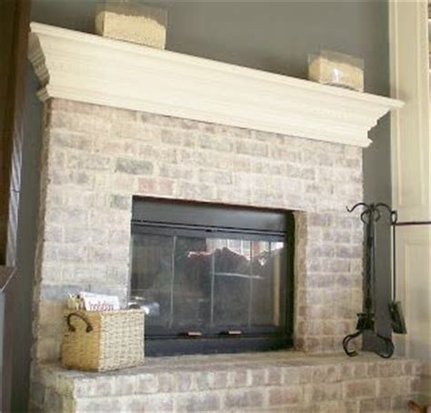 Glazed Brick Fireplace by Graywashing Techniques Try Painting The Brown Grout