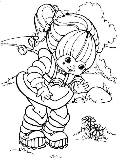 rainbow brite coloring pages free printable rainbow brite online coloring pages printable coloring