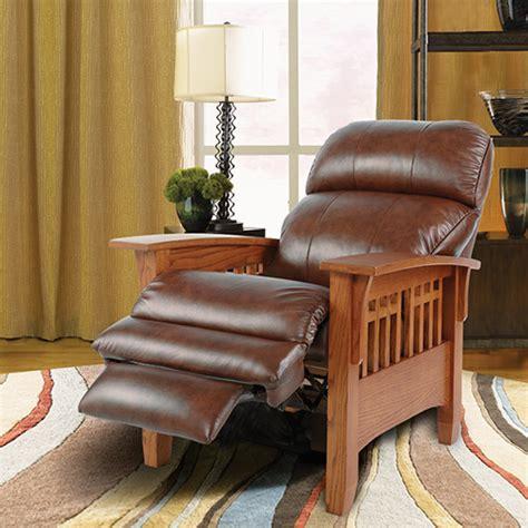 La Z Boy Mission Style Recliner eldorado high leg recliner