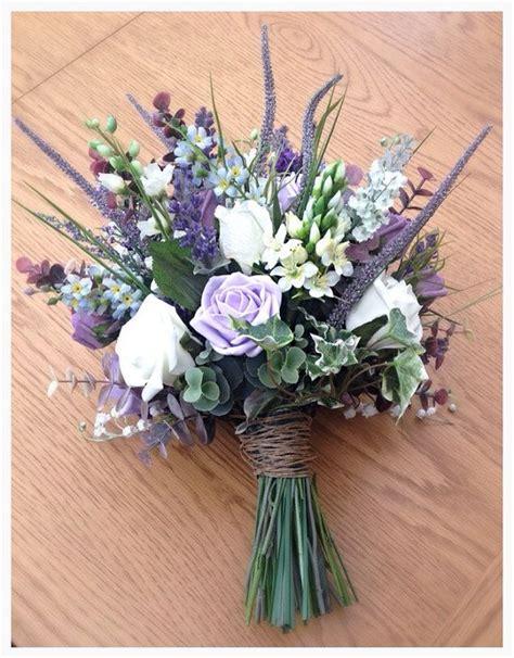 Artificial Lavender Flower Bouquet best 25 artificial wedding bouquets ideas on