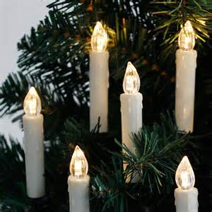 20 led flickering christmas tree candle lights battery