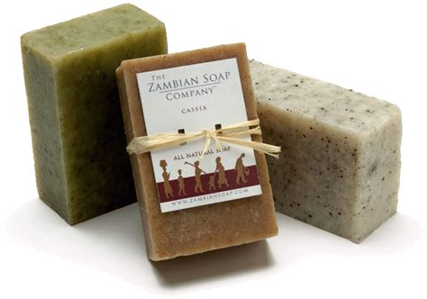 Handmade Company - the zambian soap company organic fair trade soap