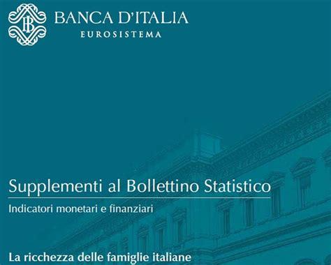 delle marche self bank famiglie bankitalia famiglie italiane pi 249 ricche di quelle