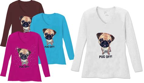 pug neck size sale pug v neck neck sleeve plus size shirt white teal raspberry