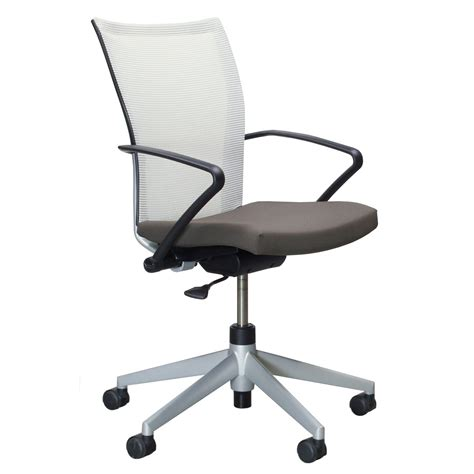 Haworth Chair by Haworth X99 Used Task Chair Brown And White National