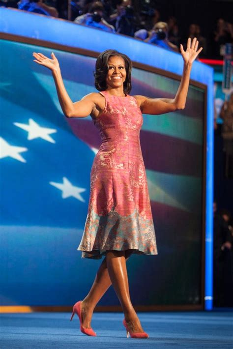 Political Fashion Obamas Dress by Political Fashion The Race Is On Brocade Dresses