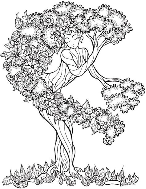 coloring pages for adults calming dover keep calm and color tranquil trees coloring book