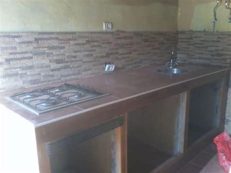 cambiar encimera cocina obras cocina rustica de obra great cocina estilo rstico with