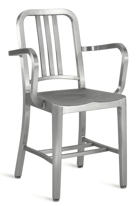 emeco aluminum navy chair emeco navy arm chair modern planet
