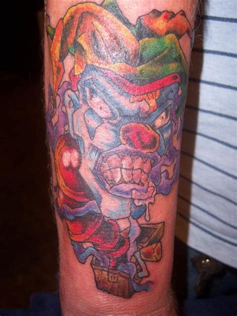 jack in the box tattoo evil in the box by angiepip on deviantart