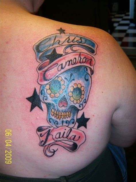 stylin tattoo 25 best sugar skull name tattoos images on