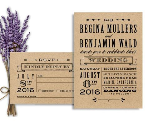 Chic And Food At Sundance by Rustic Wedding Suite Diy Wedding Invitation Printable