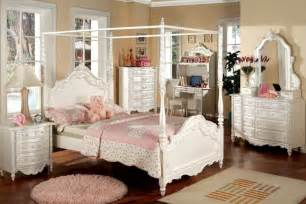 White Canopy Bedroom New Pearl White Wood Size Canopy
