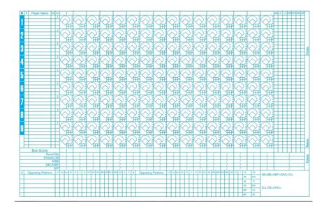 baseball score sheet template 30 printable baseball scoresheet scorecard templates