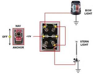 nav anchor light switch connection with pic page 2 the hull boating and fishing forum