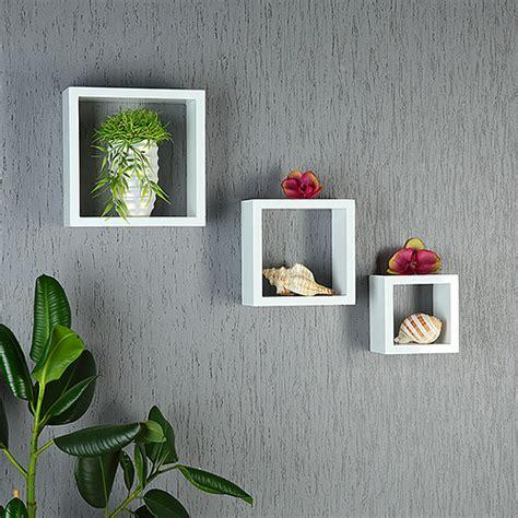 Wandregal Würfel Holz by Wandregal Quadratisch Rot Bestseller Shop F 252 R M 246 Bel Und