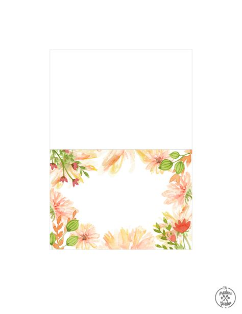 flowers for card free flower card printables
