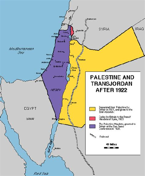 map  palestine  transjordan