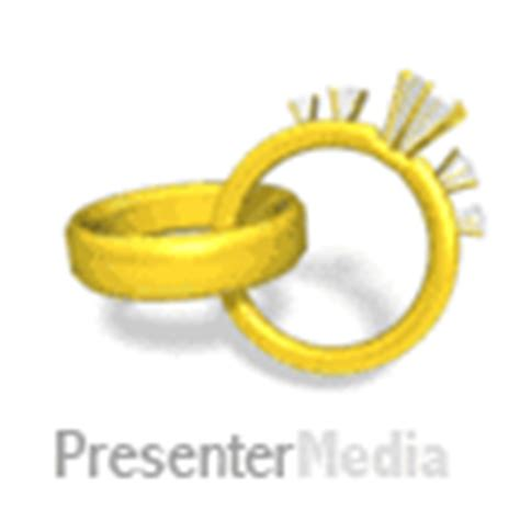 Wedding Powerpoint Animation by Wedding Rings Rotating