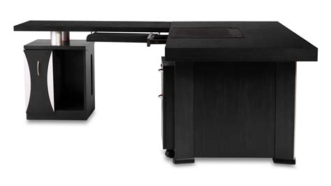 Modern Black Desk Modern Black Desk Best Home Design 2018