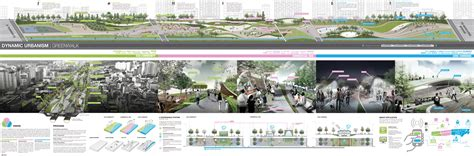 urban design competition winners quot dynamic urbanism green walk quot 3rd place winner of seoul