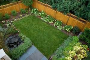 small fenced yard perfection garden designs pinterest