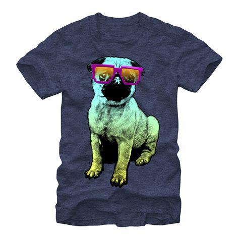 pug in glasses lost gods pug in glasses mens graphic t shirt ebay