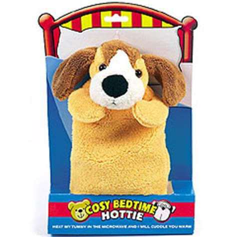 puppy bedtime ultra safe microwave hottie