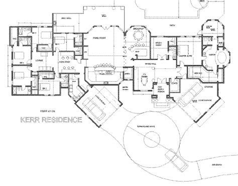 Single Story House Plans 3000 Sq Ft Google Search One Story House Plans 5000 Square