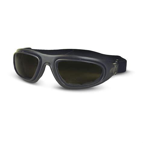 fox outdoors 174 tactical goggle sunglasses black frame