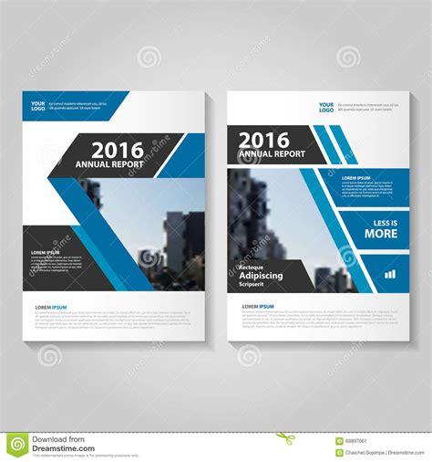 layout vector majalah abstract blue black annual report leaflet brochure flyer