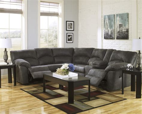 rent to own sofa rent to own ashley tambo 2 piece motion sectional for