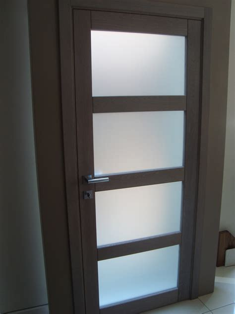 Glass Paneled Interior Door Interior Glass Panel Door