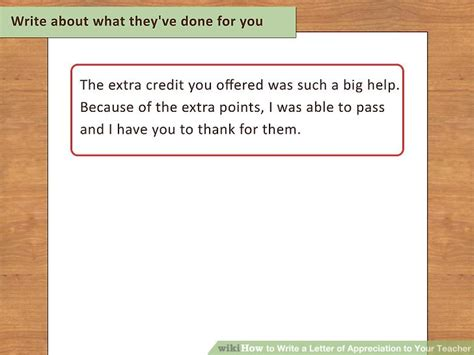how to write an appreciation letter to your how to write a letter of appreciation to your 13