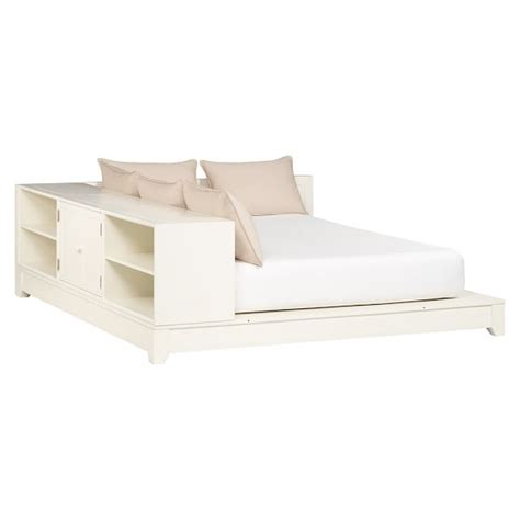 ultimate bookcase storage bed set pbteen