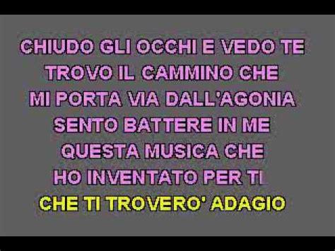 testo adagio karaoke lara fabian adagio flv