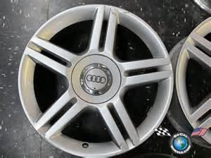one 05 11 audi a4 factory 17 quot wheel oem 58788