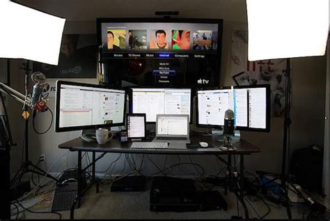 best pc setup a look at robert scoble s tech command center all that s missing is boba fett digital trends