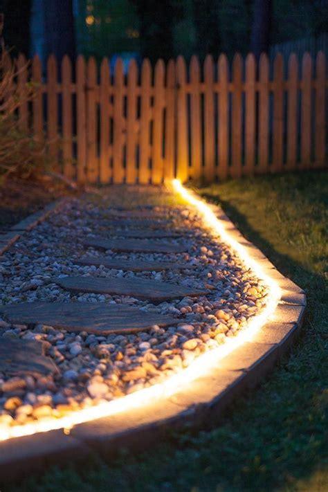 outdoor rope lighting ideas diy outdoor lighting the secret of rope light