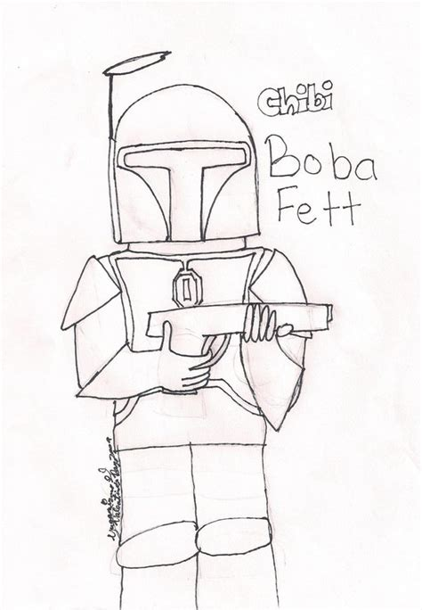 coloring pages star wars boba fett boba fett coloring page by yugamizuno on deviantart