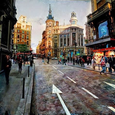 imagenes urbanas abstractas pintura moderna y fotograf 237 a art 237 stica pintura al 211 leo