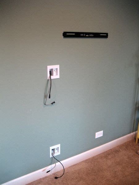 best 25 tv cable ideas on hide tv cords wall