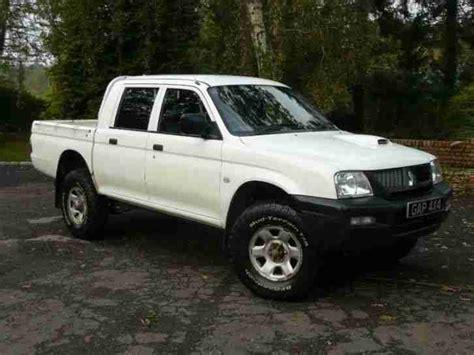 how does cars work 1995 mitsubishi truck parental controls mitsubishi l200 gl 2 5 td 4 work no vat diesel manual 2006 06 car for sale